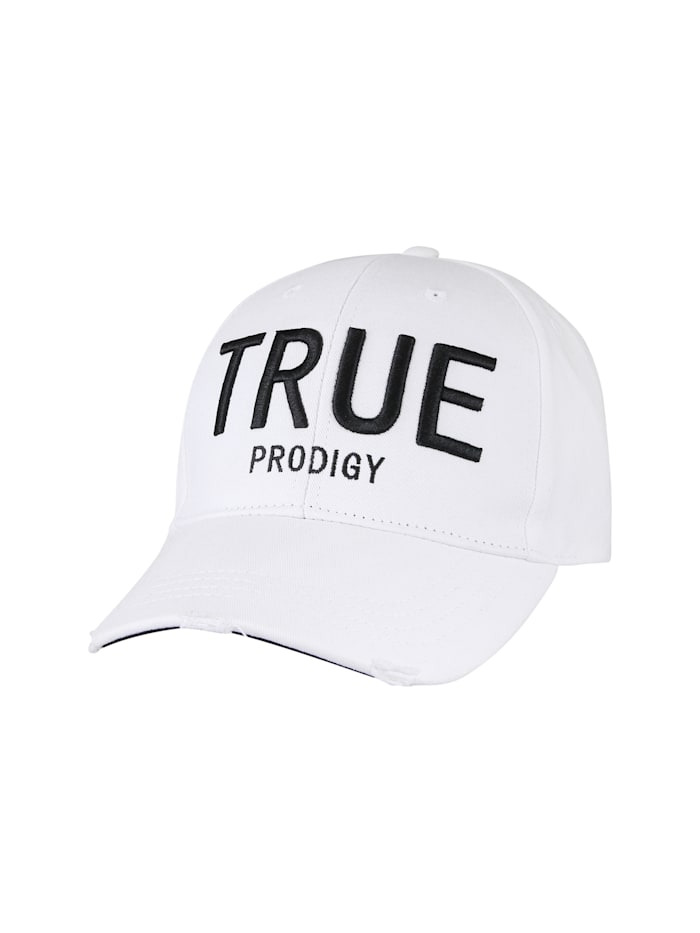 trueprodigy Kappe Dane mit coolem Markenschriftzug, 2000-White
