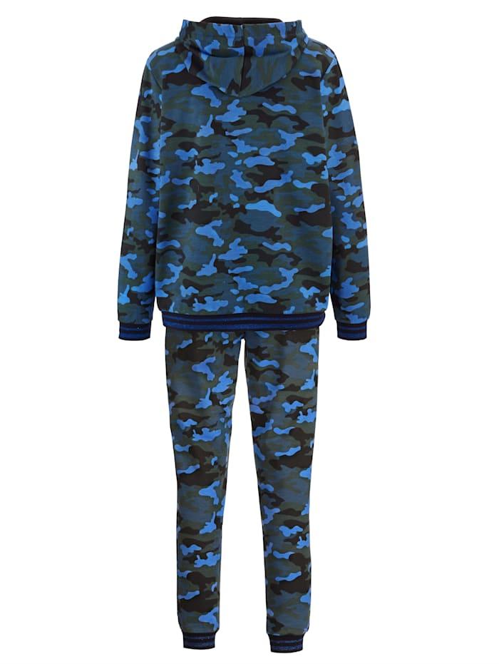 Freizeitanzug im Camouflage-Look