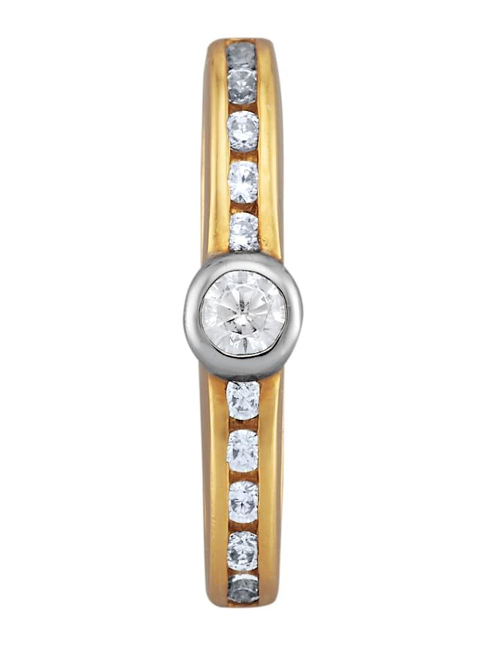 Amara Diamant Anhänger mit Brillanten, Weiß