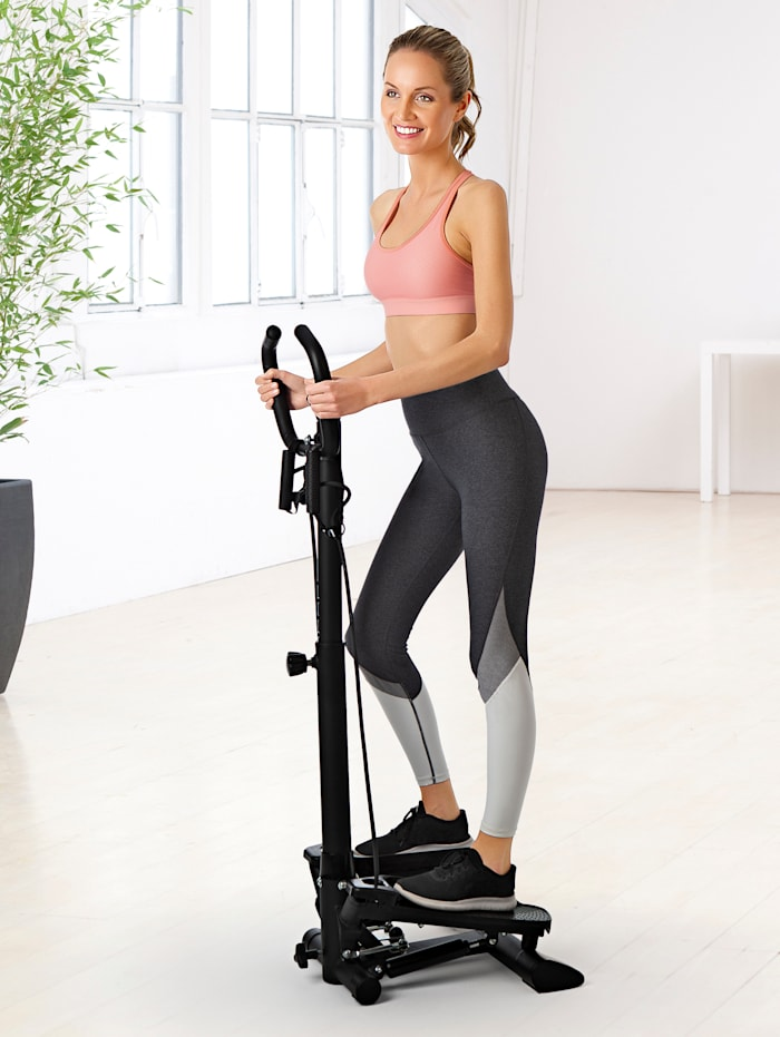 Entraîneur fitness 'Swing Stepper' avec deux bandes extensibles