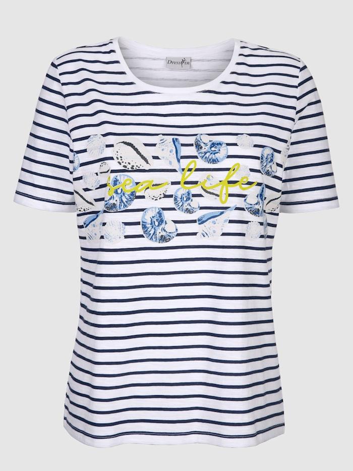 Shirt im angesagten Streifenlook