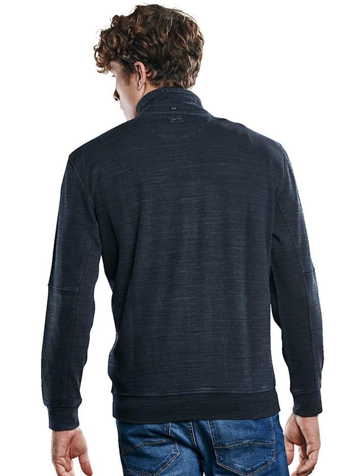 Modisches Stehbund-Sweatshirt