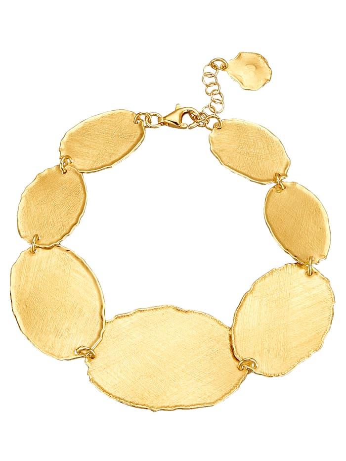 Armband in Silber 925, vergoldet, Gelbgoldfarben
