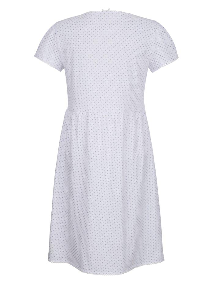 Nachthemd in romantische babydoll-look