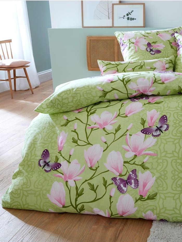 2-delige set bedlinnen Magnolia
