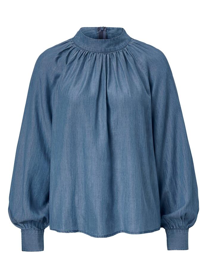 SIENNA Bluse, Hellblau