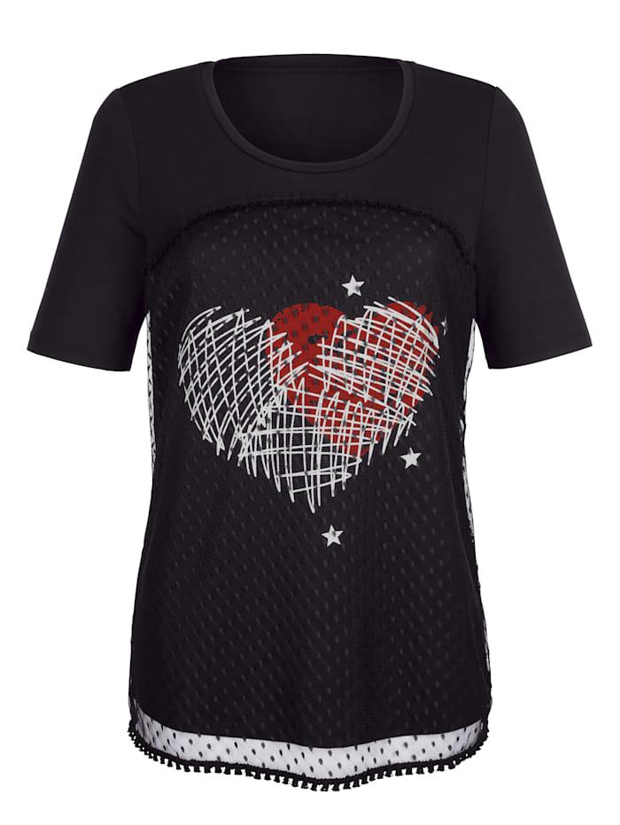 T-shirt en mesh