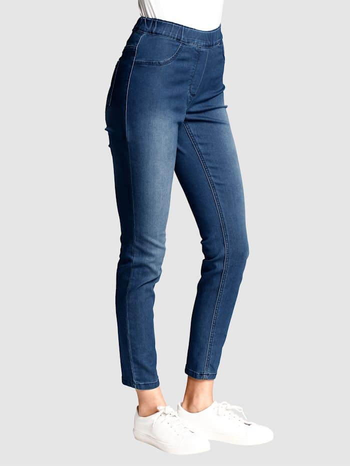 Alba Moda Jeggings in Super Stretch-Qualität, Blau
