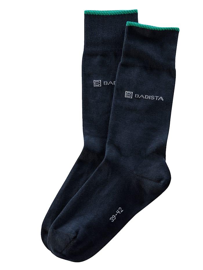 BABISTA Socken mit nachhaltiger Bio Baumwolle, Marineblau