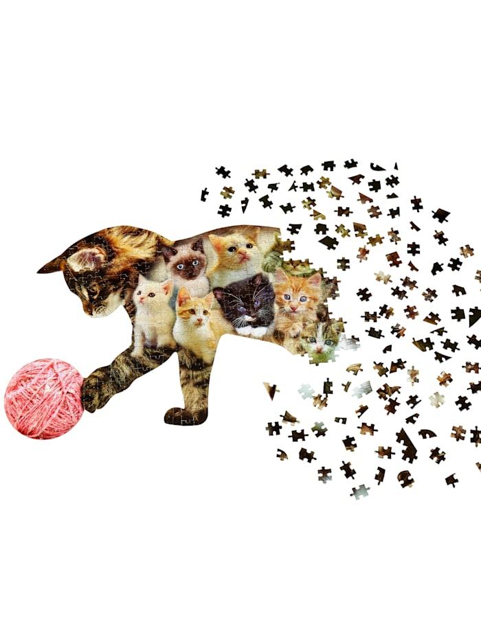 Konturen-Puzzle 'Katze'