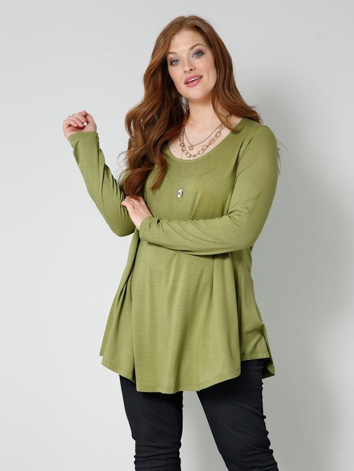 Sara Lindholm Shirt in A-Shape, Schilf