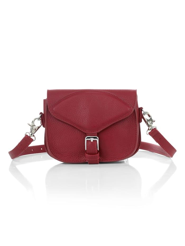 Alba Moda Tas op 3 manieren te dragen, Rood