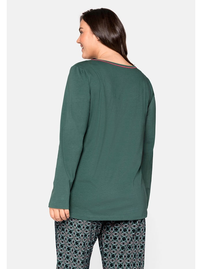 Sheego Schlafanzugshirt