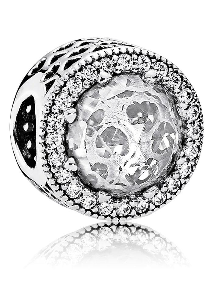 Pandora Charm -Strahlenkranz der Herzen- 791725CZ, Weiß