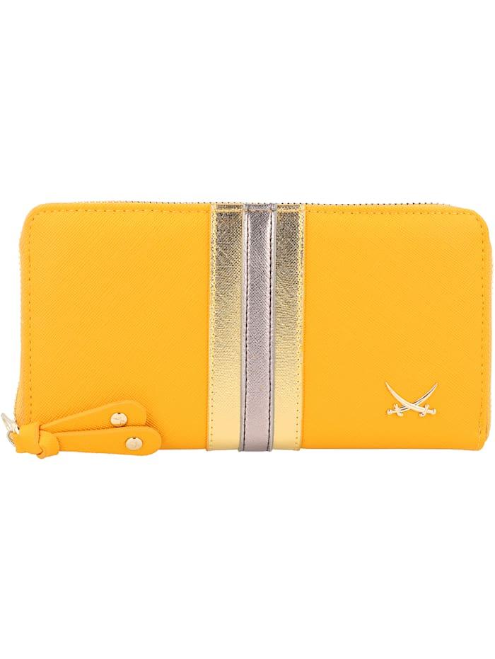 Sansibar Geldbörse 19 cm, yellow