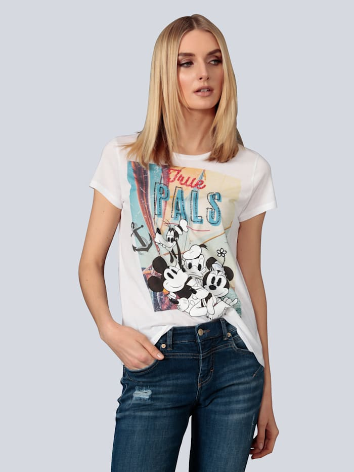 Princess GOES HOLLYWOOD T-Shirt mit Disneymotiv, Weiß