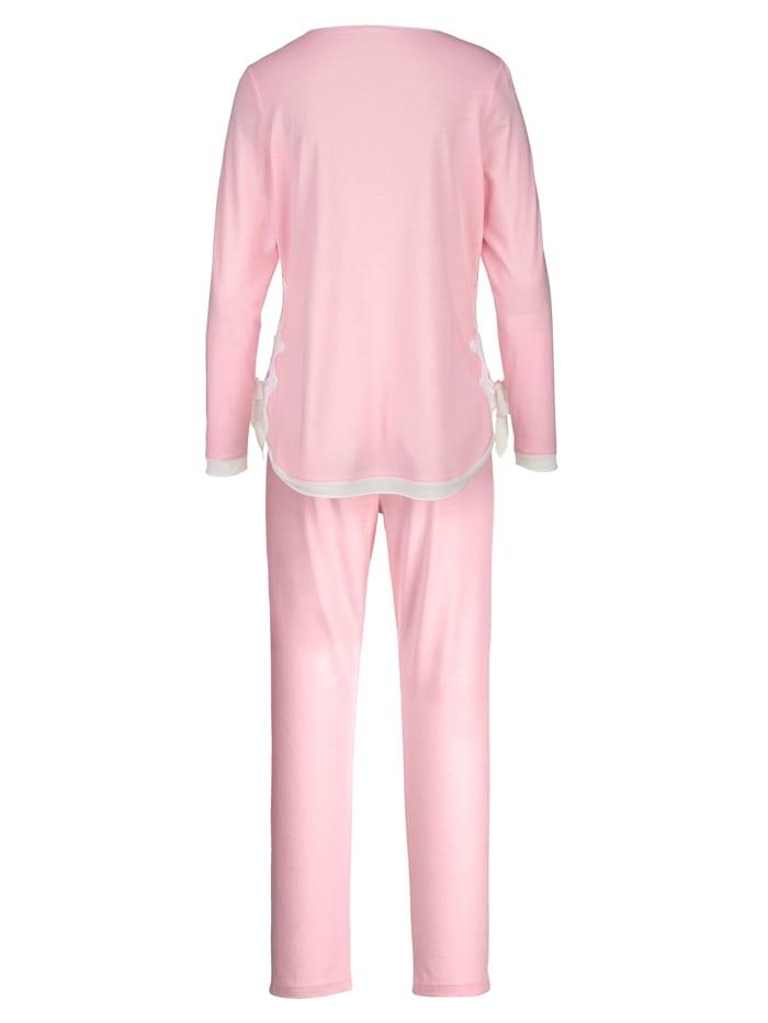 Pyjama met chiffon