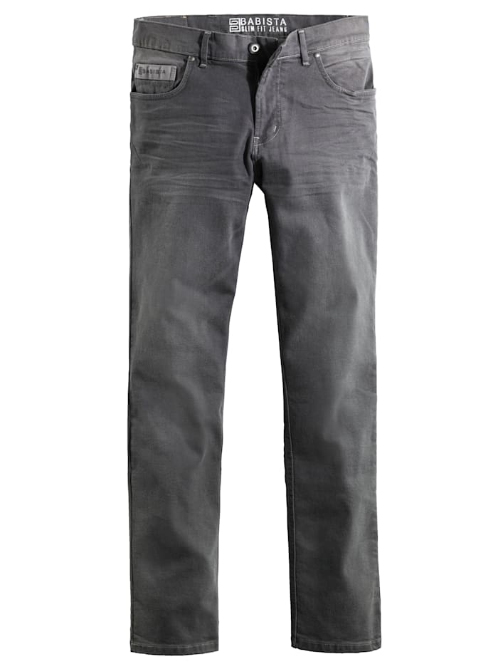 BABISTA Jeans med trendiga detaljer, Grå