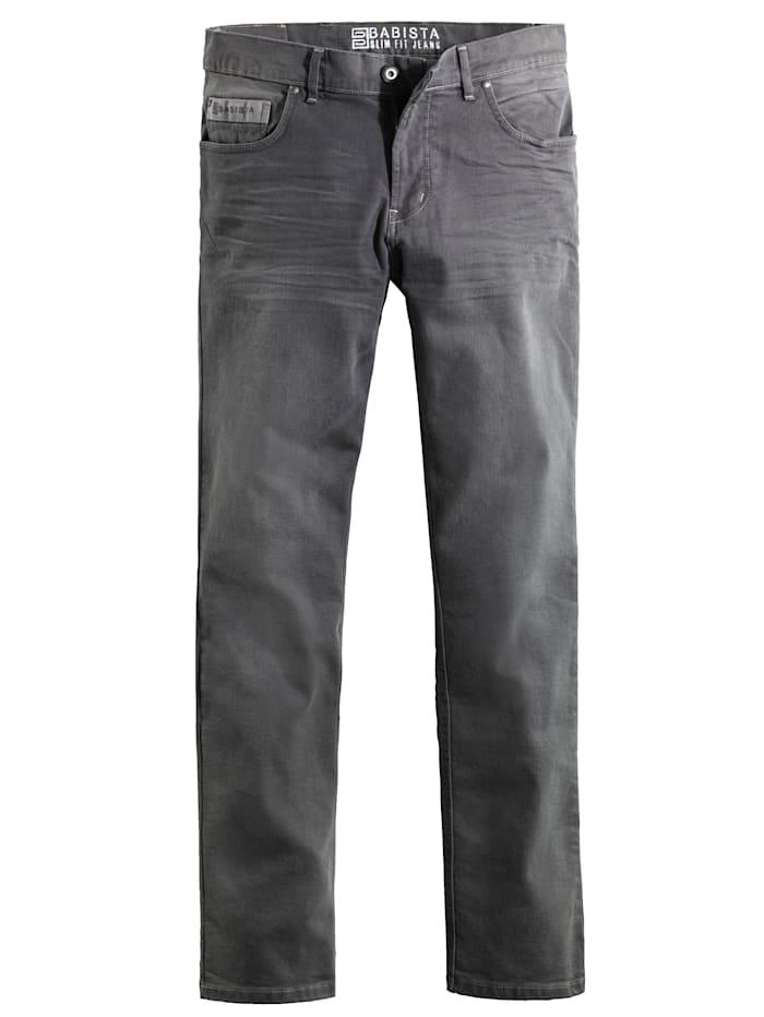 BABISTA Jeans mit modischen Akzenten, Grau
