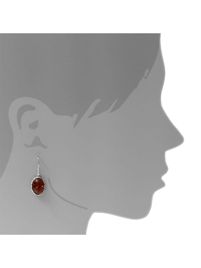 Ohrhänger - Clara - Silber 925/000 - Bernstein