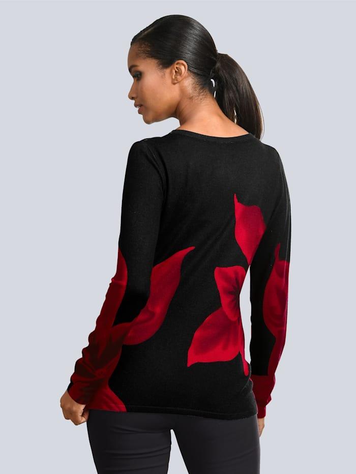 Pullover mit Strassverzierung