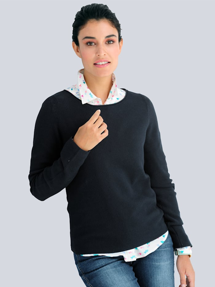 Pullover aus Pima Cotton
