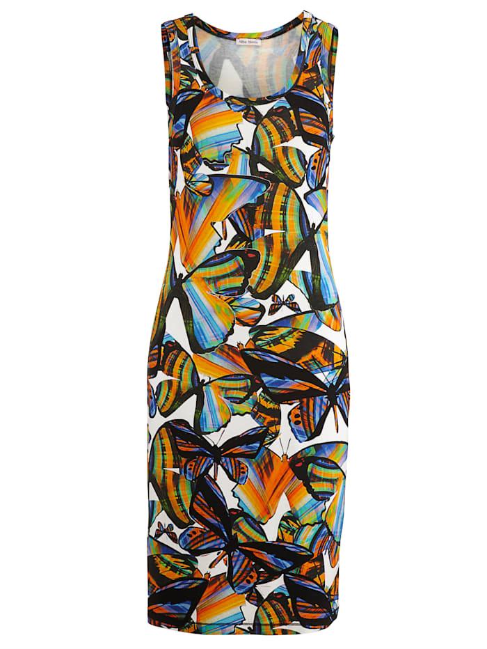 Alba Moda Jurk met zomerse print, multicolor