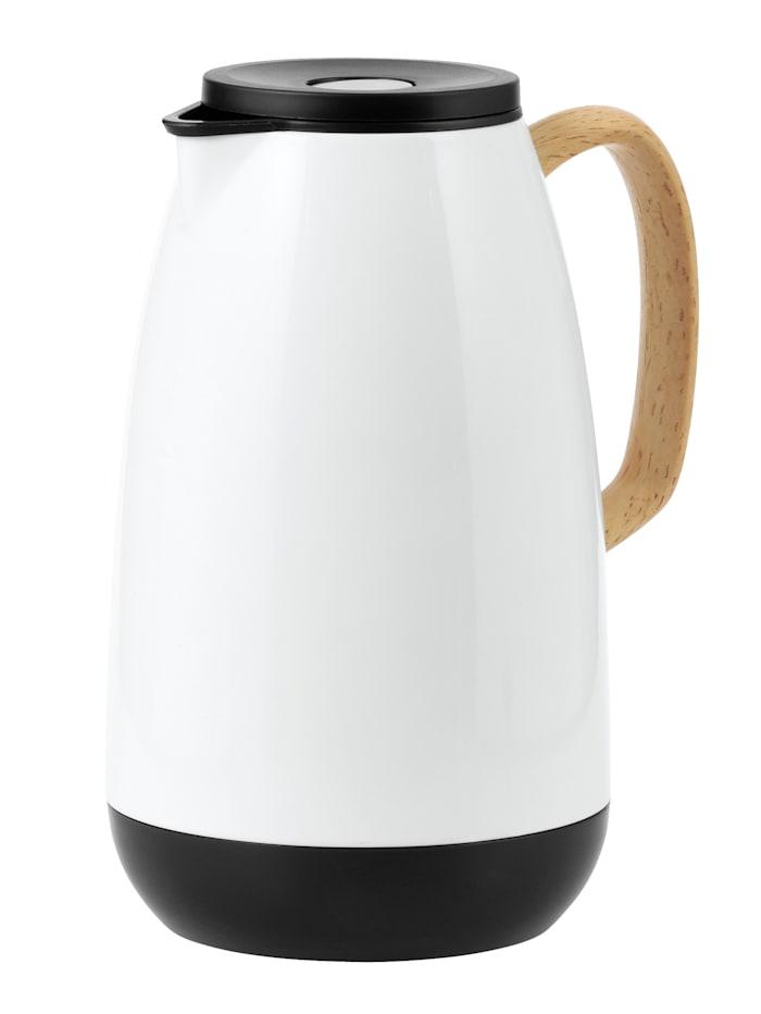 Esmeyer Thermoskan Nature, 1 liter, wit