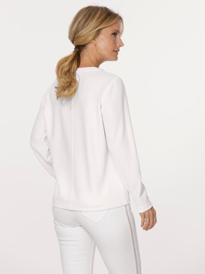 Sweatshirt mit dekorativer Plättchenzier