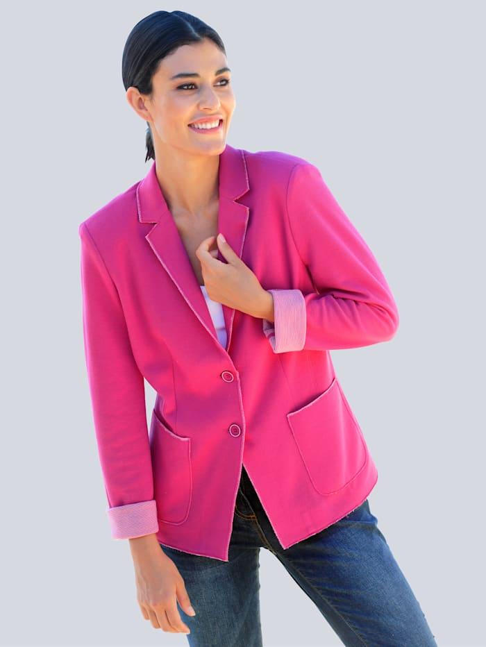 Alba Moda Blazer mit aufwändiger Verarbeitung, Pink