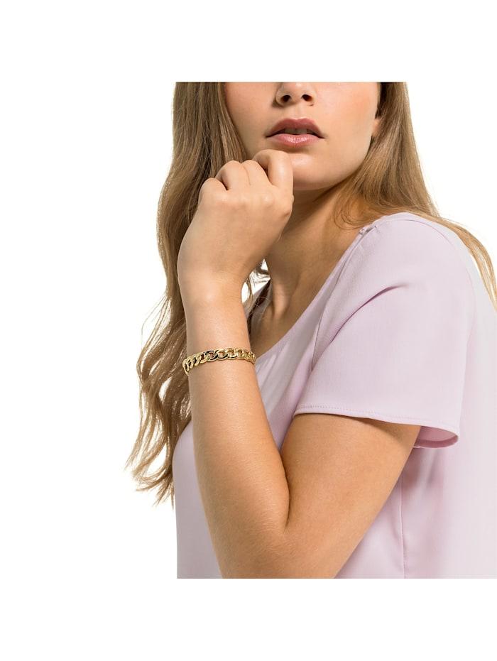 GMK Damen-Armband Edelstahl 22 Zirkonia