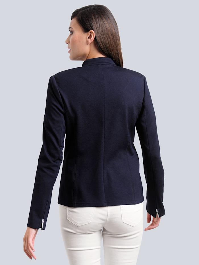 Blazer van comfortabele jersey