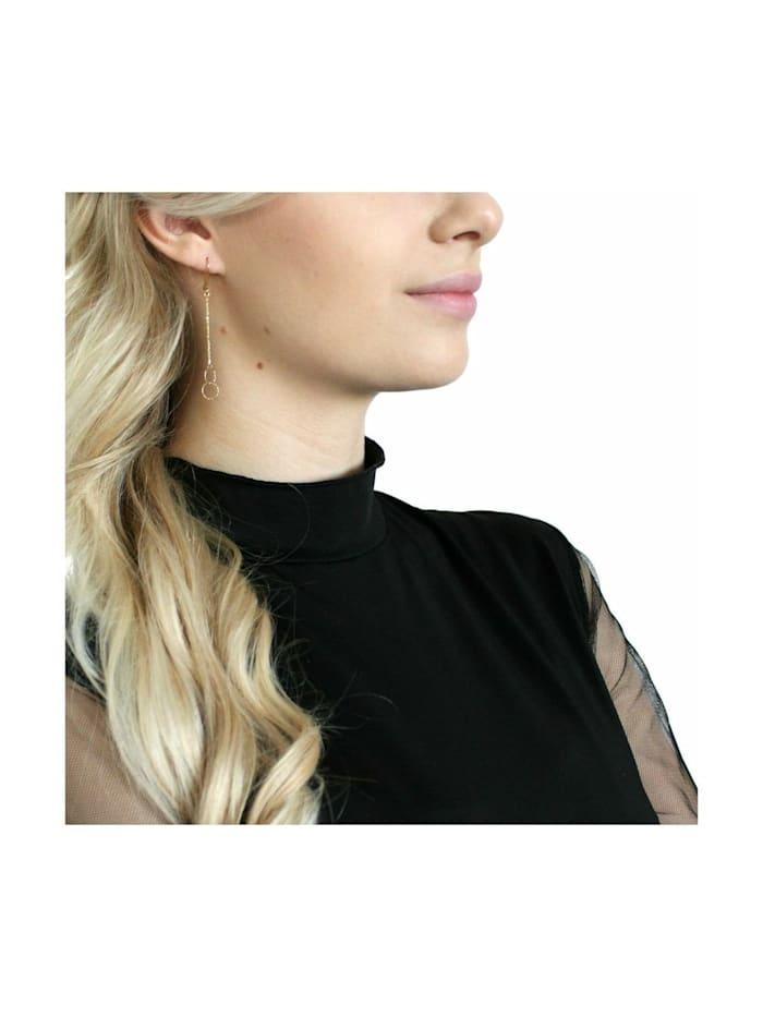 Ohrhänger für Damen, Gold 375