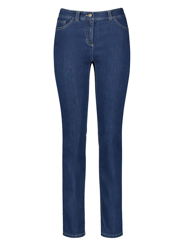 Gerry Weber 5-Pocket Hose Best4me SlimFit, Blue Denim