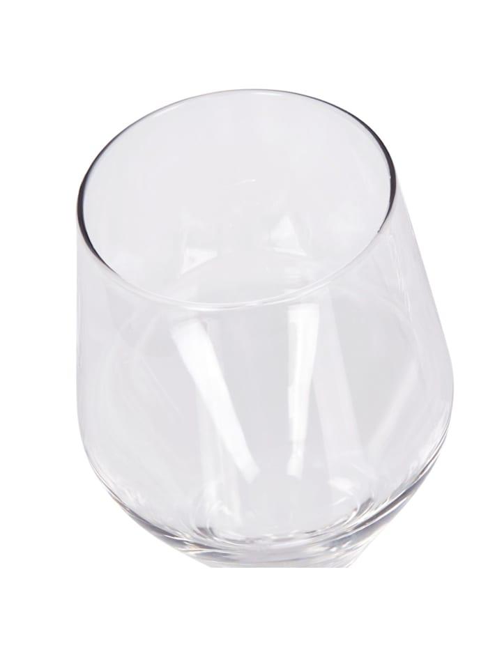Lot de 6 verres à vin rouge