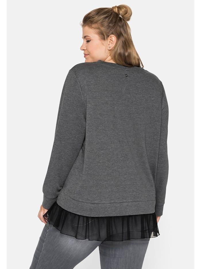 Sweatshirt im Layeringlook