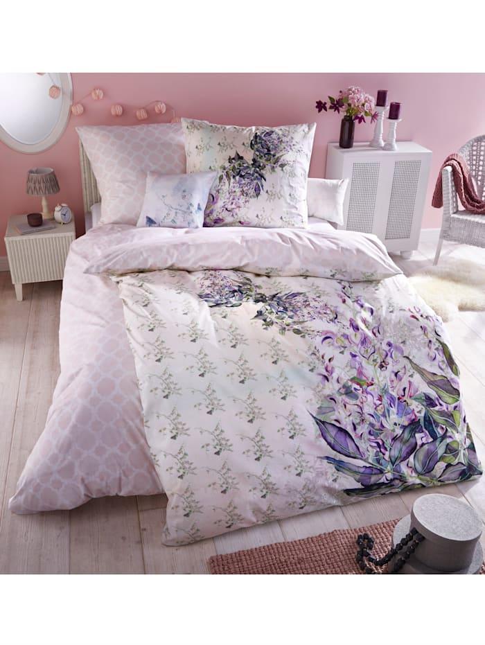 Coussin décoratif 'Donna', Rose