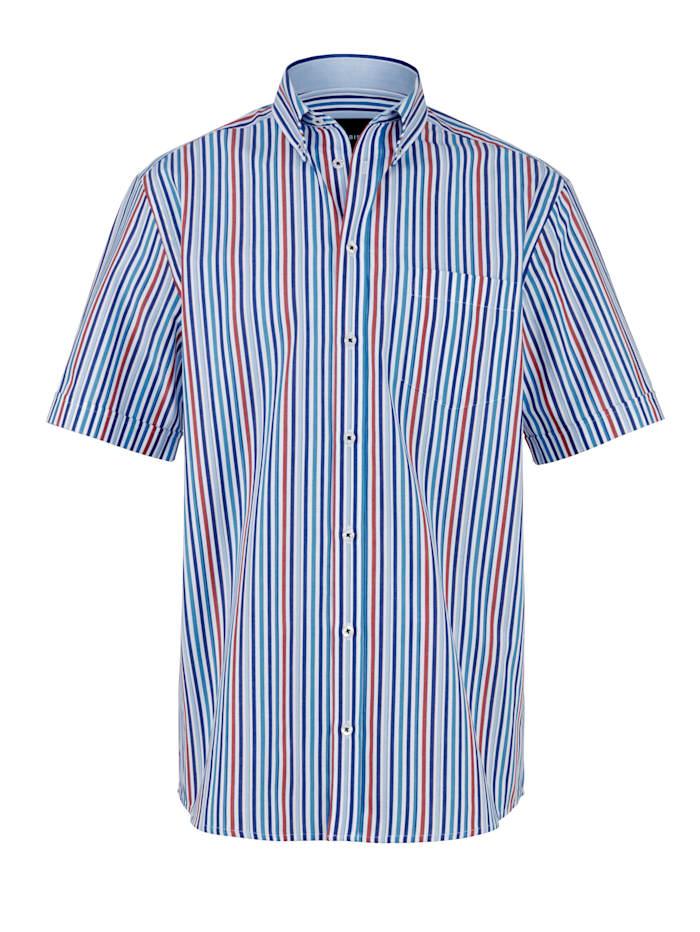 Hemd mit garngefärbtem Streifendessin