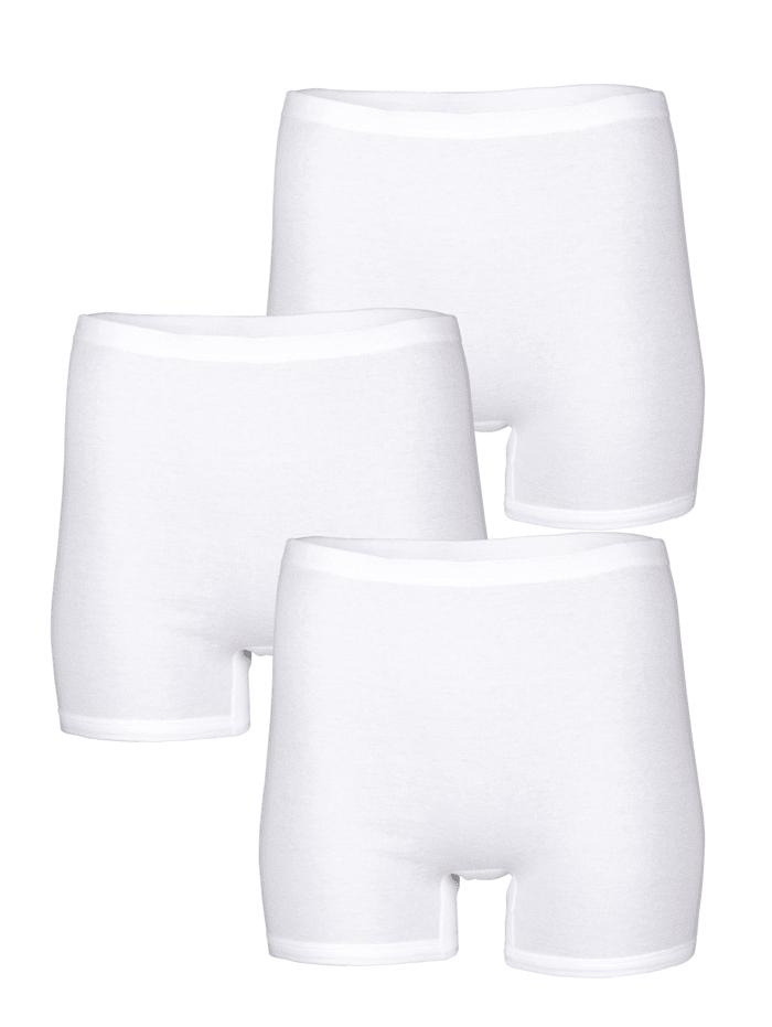 Harmony Dlhé nohavičky - 3 kusy, Biela