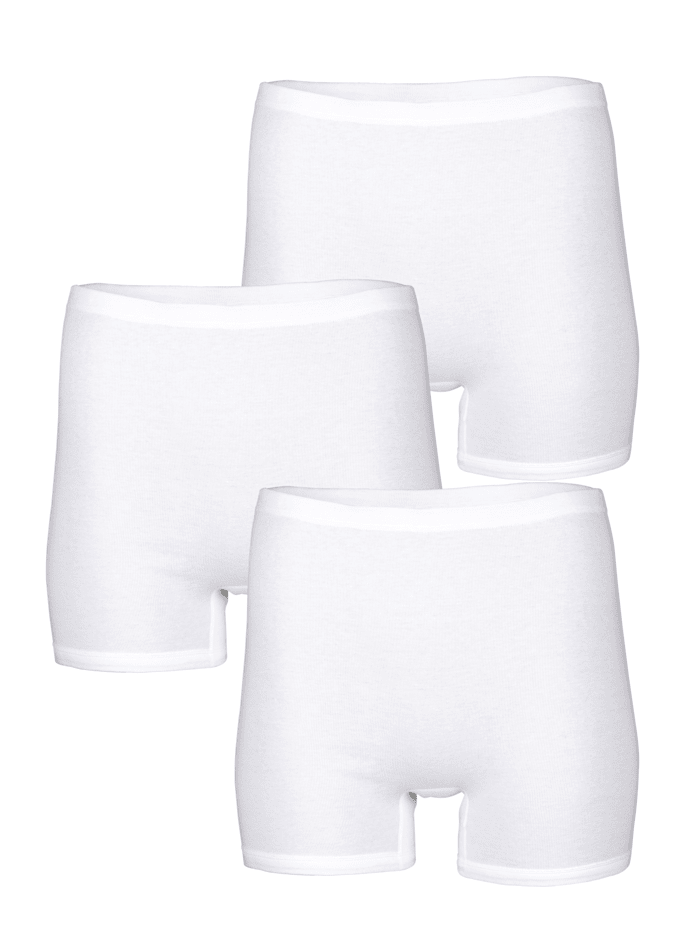 Harmony Dlouhé kalhotky - 3 kusy, Bílá