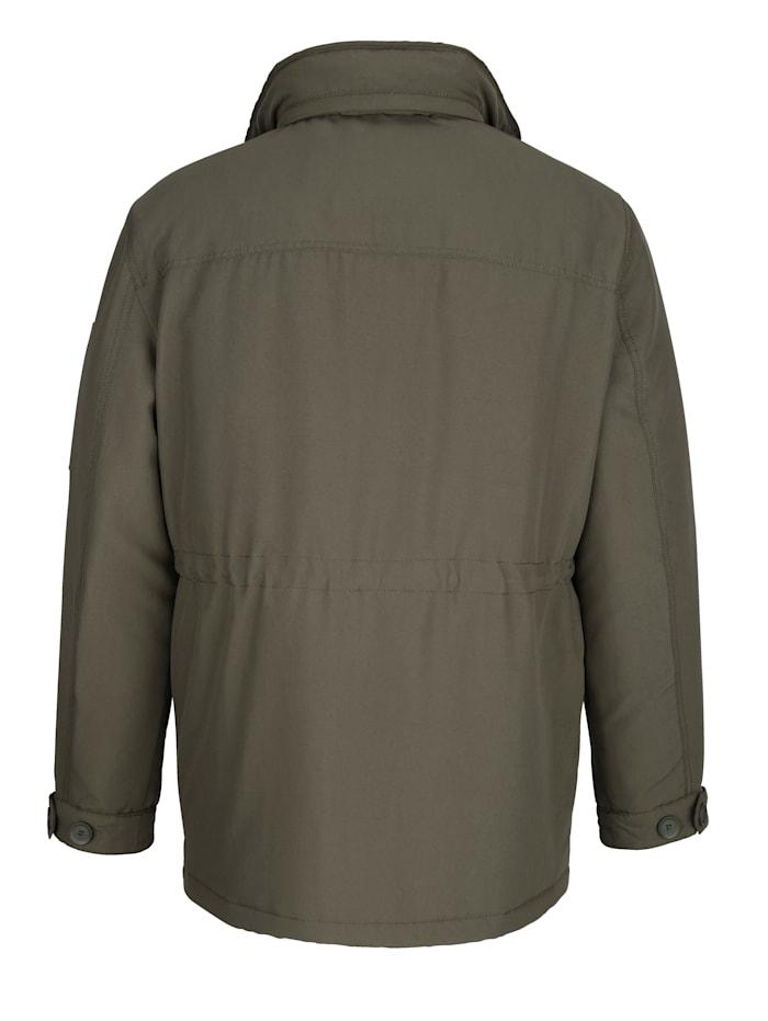 Dlhá bunda vnútro goliera vo flísovej kvalite