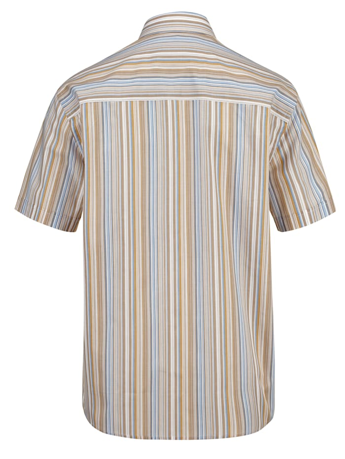Overhemd met ingebreid patroon