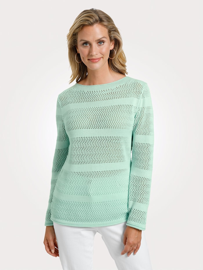 MONA Pullover, Mintgrün