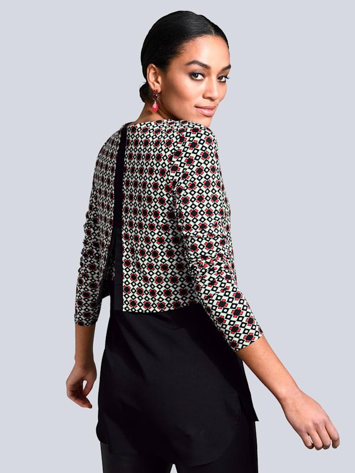 Shirt mit modischem Lagen-Look