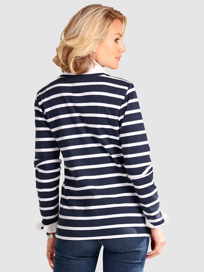 Zip Jumper Timeless stripes