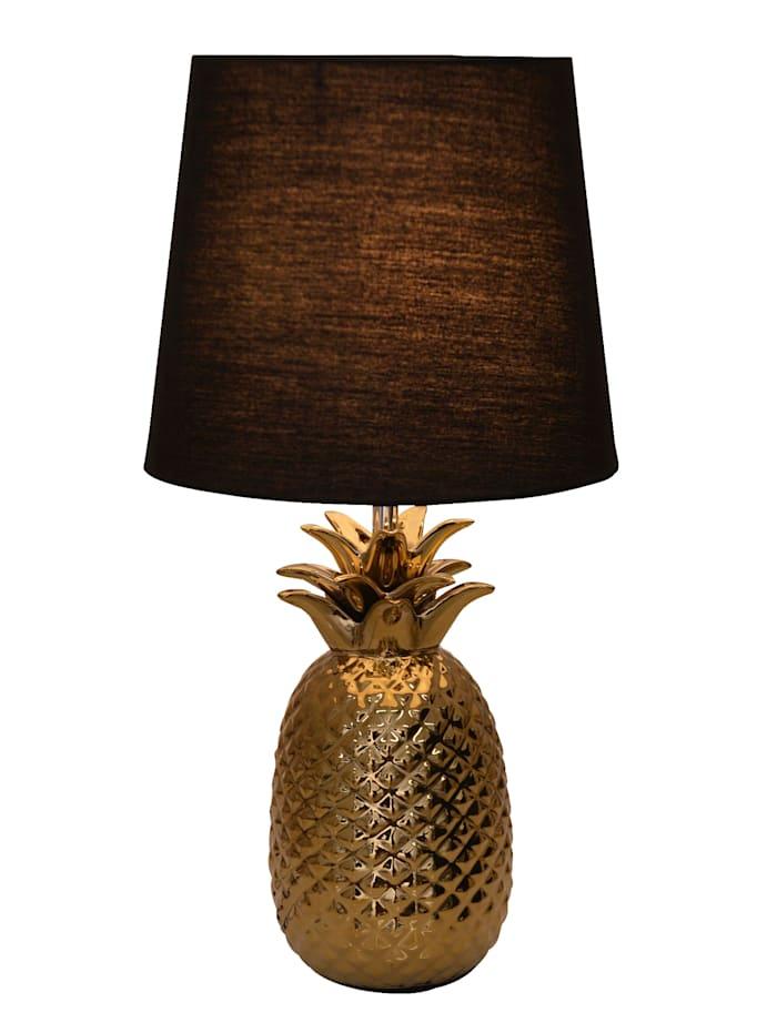 Keramik-Tischleuchte 'Ananas'