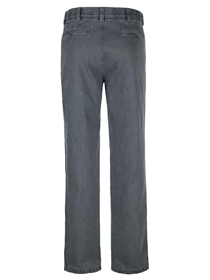 Jeans i strykfritt material
