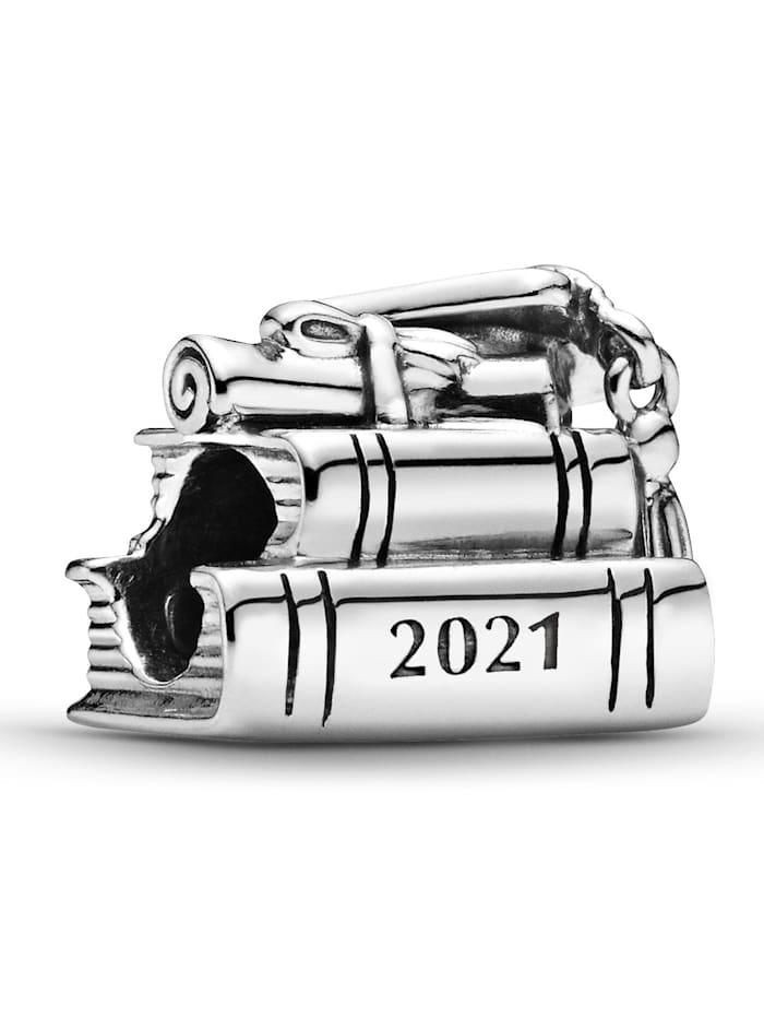 Pandora Charm -2021 Schulabschluss- 799325C00, Silberfarben