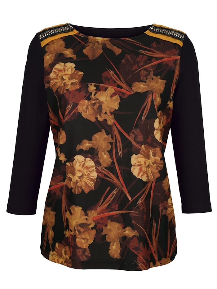 Shirt mit Floraldruck vorne