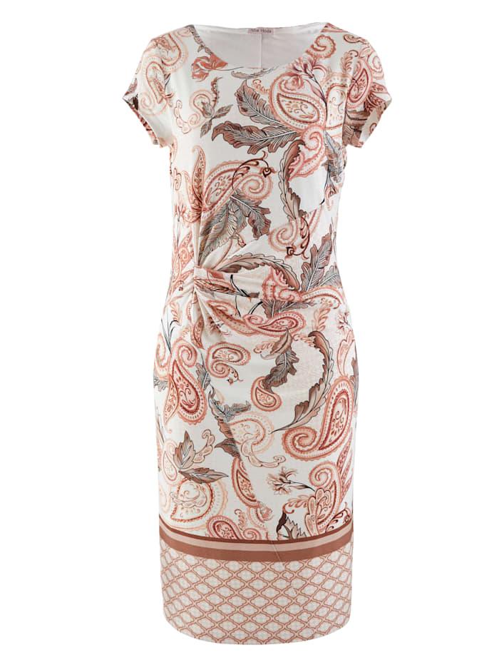 Jerseykleid im exklusiven Dessin von Alba Moda